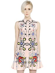 Peter Pilotto Printed Silk Georgette Shirt