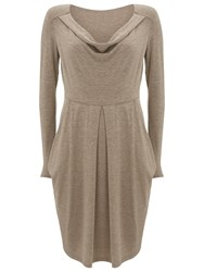 Nougat London Hoxton Knitted Dress Beige
