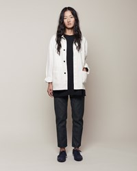 La Garconne Moderne Work Jacket Chalk