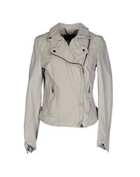 Muubaa Coats And Jackets Jackets Women Light Grey