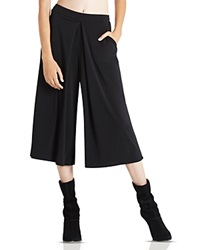 Bcbgeneration Pleated Gaucho Pants Black
