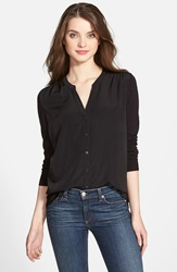 Nydj Woven Front Cardigan Regular And Petite Black
