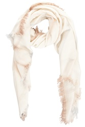 Bajra Wool Scarf With Tie Dye