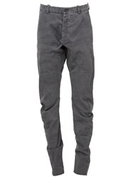 Masnada Tapered Slim Trousers Grey