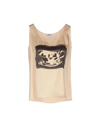Moschino Cheap And Chic Moschino Cheapandchic Topwear Tops Women Apricot