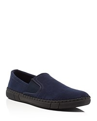Robert Wayne Road Slip On Loafers Compare At 64.95 Navy
