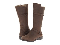 Teva De La Vina Brown Women's Zip Boots