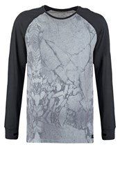 Globe Moonshine Long Sleeved Top Grey Mottled Grey