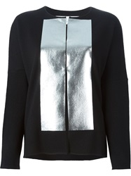 Gianluca Capannolo Two Tone Cardigan Black
