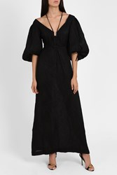 Rosie Assoulin The Holster Gown Black