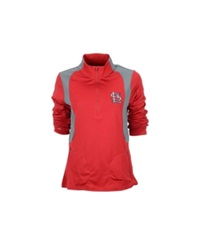Antigua Women's St. Louis Cardinals Delta Pullover Red