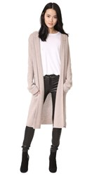 Theperfext Long Tie Cashmere Sweater Toast