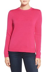 Vineyard Vines Women's Whale Intarsia Sweater Rhododendron