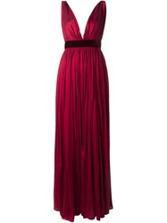 Dsquared2 Pleated Evening Gown