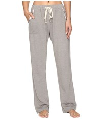 Lucky Brand Luxe Chillin Out Pants Grey Women's Pajama Gray