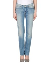 Jaggy Denim Denim Trousers Women