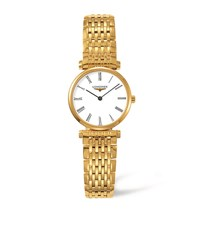 Longines La Grande Classique Watch Unisex Yellow