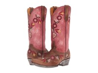 Old Gringo Onawa Oryx Pink Cowboy Boots Brown