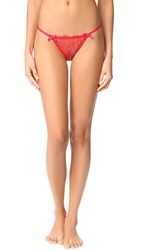 Agent Provocateur Grace Trixie G String Red Gold