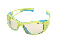 Julbo Eyewear Tensing Flight Interchangeable Zebra And Polarized Lenses Yellow Blue Sport Sunglasses Multi