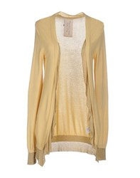 Manila Grace Knitwear Cardigans Women Yellow