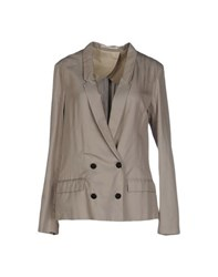 Mauro Grifoni Suits And Jackets Blazers Women Grey