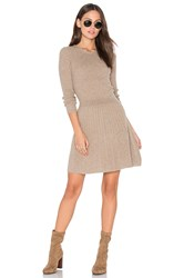 Joie Peronne Sweater Dress Brown