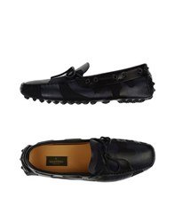 Valentino Garavani Footwear Moccasins Men Dark Blue