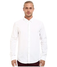 Mavi Jeans Fitted Basic Shirt White Men's Clothing