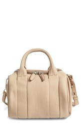 Alexander Wang Rockie Matte Pebbled Leather Satchel