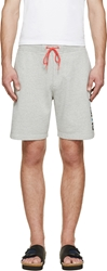Marc By Marc Jacobs Grey Mad Mask Lounge Shorts