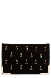 Shiraleah 'Lois' Clutch Black