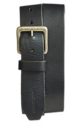 Men's A. Kurtz 'Locke' Leather Belt Black