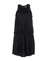 Frankie Morello Short Dresses Black