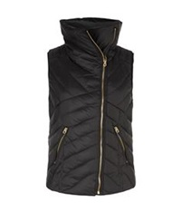 Juicy Couture Boucle Puffer Gilet Black