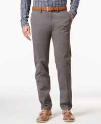 Kenneth Cole Reaction Men's Slim Fit Sustainable Stretch Chino Pants Chcoal Htr