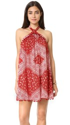 Tularosa Holden Dress Cherry Scarf