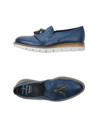Barracuda Footwear Moccasins Men Blue