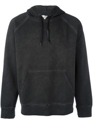 Our Legacy Washed Effect Hoodie Black