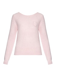 N 21 Open Back Long Sleeved Knit Sweater