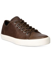 Frye Men's Brett Low Top Sneakers Men's Shoes Charcoal