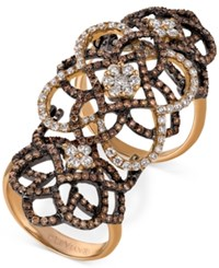 Le Vian Chocolatier Diamond Knuckle Ring 2 Ct. T.W. In 14K Rose Gold