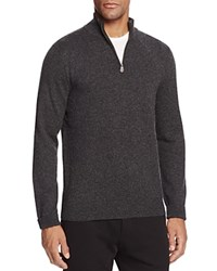 Bloomingdale's The Men's Store At Cashmere Mockneck Sweater Coal