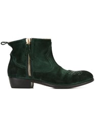 Golden Goose Deluxe Brand 'Anouk' Boots Green