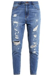 Only Onltonni Relaxed Fit Jeans Medium Blue Denim