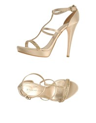 Martin Clay Footwear Sandals Women Beige