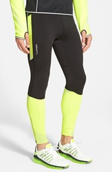 Craft 'Brilliant Thermal' Stretch Running Pants Black Flumino
