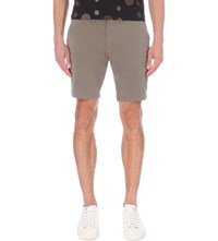Paul Smith Ps By Regular Fit Chino Shorts Elephant