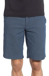 Men's Ezekiel 'Gridlock' Grid Textured Shorts