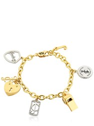 Juicy Couture Charms Chain Bracelet